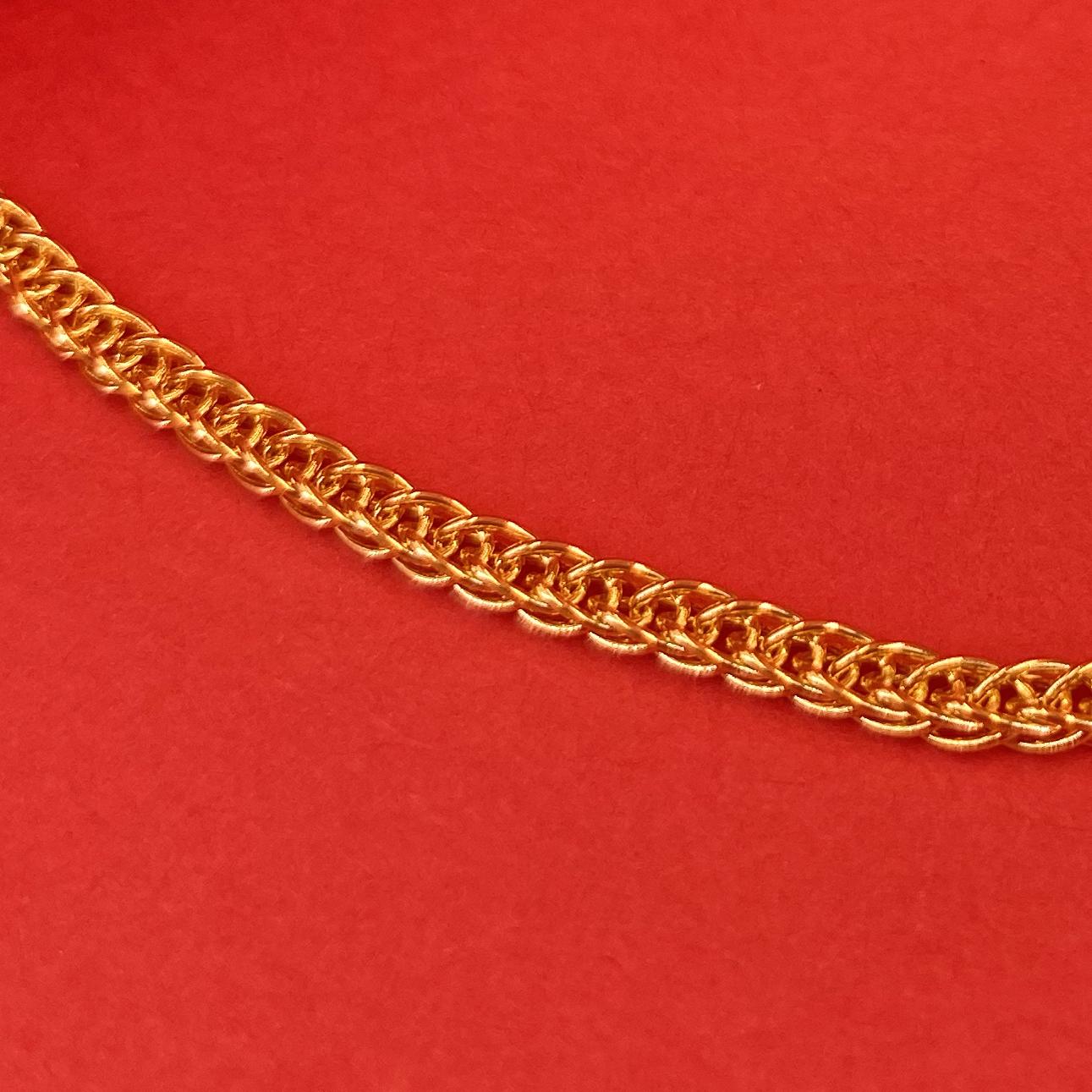 24K男裝頸鏈